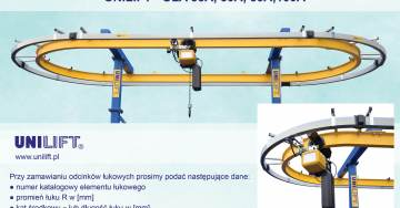zdjęcie 4 – pole insulated conductor rails UNILIFT - ULA